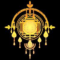 Blume des Lebens, Heilige Geometrie, Amulett, Yoga