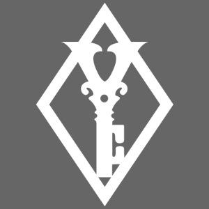 Clean Diamond Key White