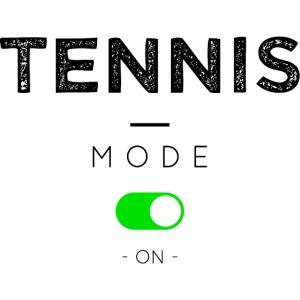 Tennis mode on