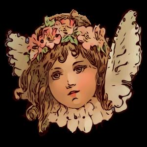 Blumen Engelchen