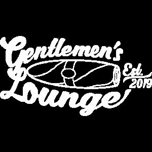 white gentlemans lounge