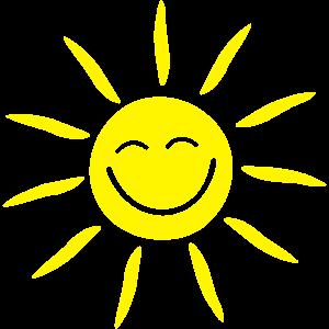 Natur - Sonne Gesicht