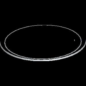 3D Saturnring metallic