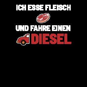 Fleisch Diesel Autofahrer