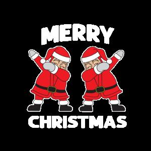 Dabbing Santa Weihnachtsmann Nikolaus Geschenk
