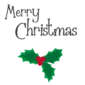 merry christmas mistelzweig