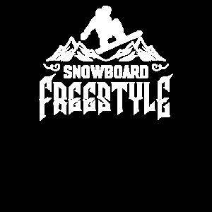 Freistil Snowboarder Snowboard Boarder Freestyle