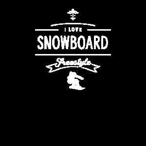 Boarder Snowboard Freestyle Freistil Snowboarder