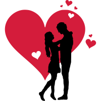 Liebe - Paar Herz