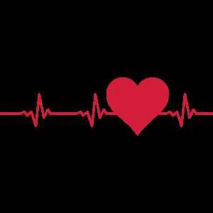 Liebe - Herz Puls