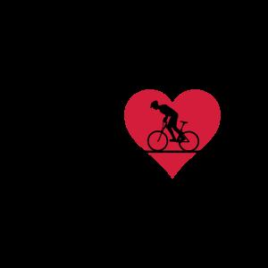 Sport - Radfahrer Puls und Herz