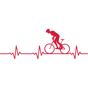 Sport Radfahrer Puls