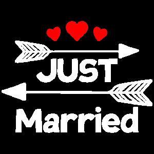 Just Married Hochzeit Geschenk
