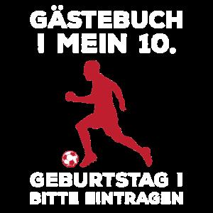 Gästebuch Mein 10. Geburtstag