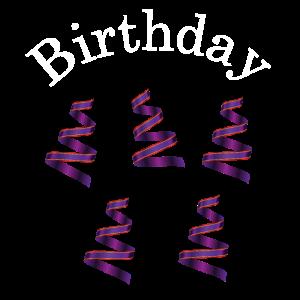 Geburtstag Birthday Party gift