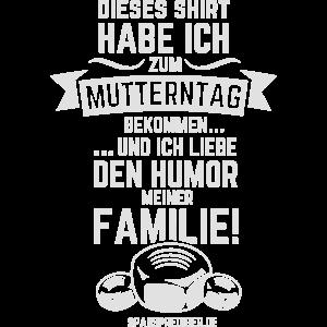 Muttertag T Shirt Spruch Mutterntag
