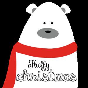 """Bär Weihnachten """"Fluffy Christmas"""""""