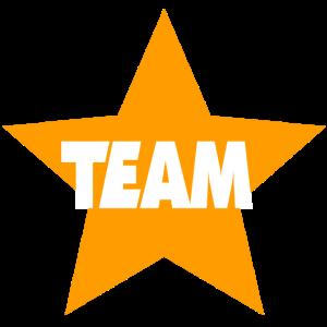 Team orange sterne