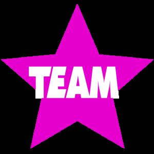 Team Sterne lila