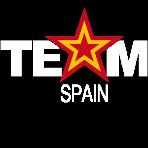 Team Spanien Sterne Spain Sport
