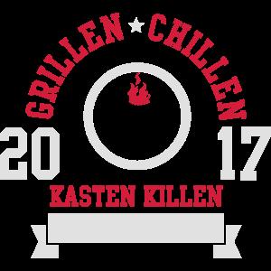 Grillen Chillen Kasten killen 2017