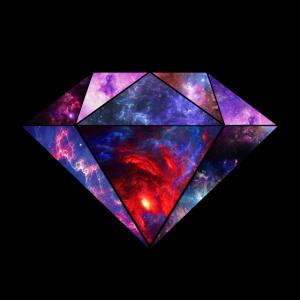 kosmischer Diamant