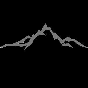 Winter - Skifahrer Berge