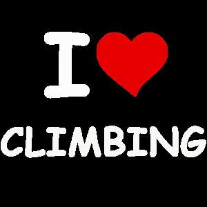 Ich liebe Klettern
