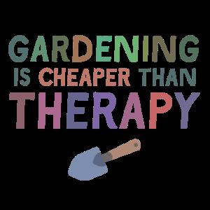 Gartenarbeit-Therapie- Geschenk Idee