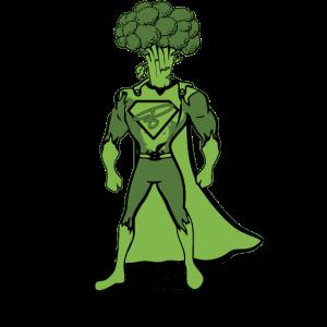 brokkoliman vegan superheld geschenk geschenkidee