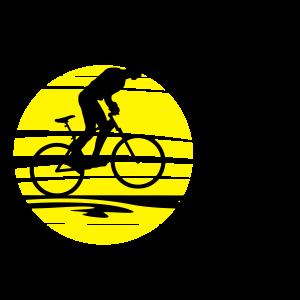 Sport - Radfahrer Sonne