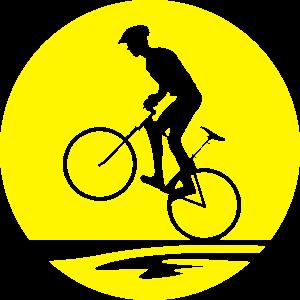 Sport - Mountainbiker Sonne