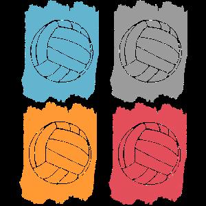 volleyball retro used