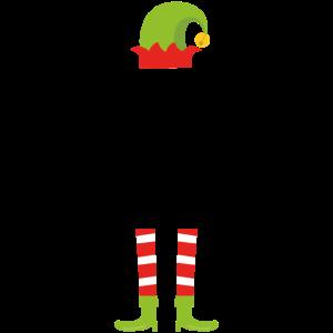 Kleine Schwester Elfe Weihnachten Geschenk