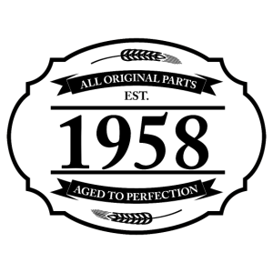 All original Parts 1958