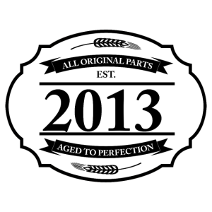 All original Parts 2013