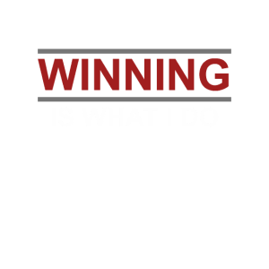 Winning is what i do