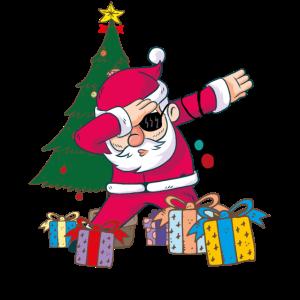Weihnachtsmann Dabbing Weihnachten