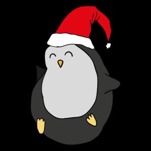 Pinguin Weihnachtsmütze Weihnachten