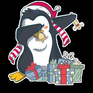 Pinguin Dabbing Weihnachten
