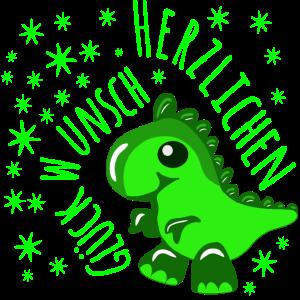 Dinosaurier Baby Herzlichen Glueckwunsch GESCHENKE