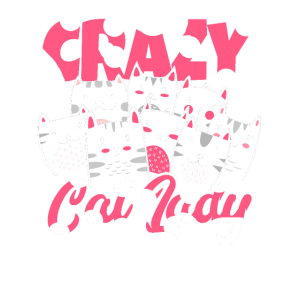 Crazy cat lady cat maine coon gift kitten pussycat