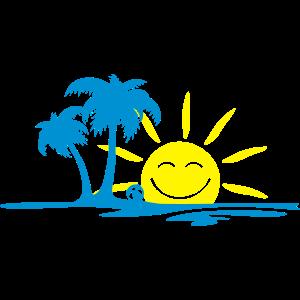 Holiday - Palmen und Wasser