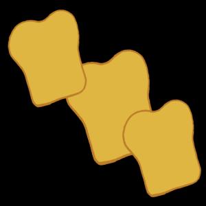 Toastbrot-Scheiben