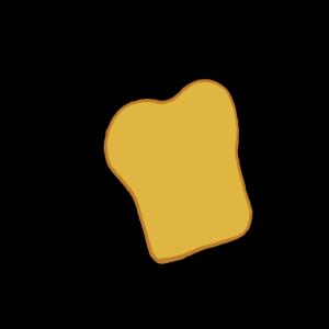 Scheibe Toastbrot