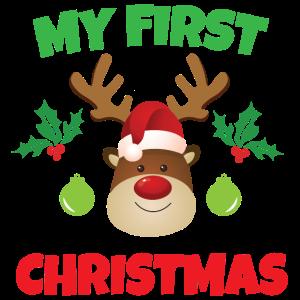 Mein erstes Weihnachten Baby Geschenk