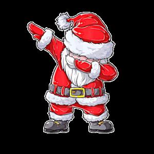 Santa Claus Dabbing Weihnachtsmann
