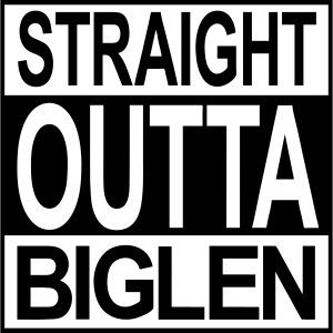 Straight outta Biglen