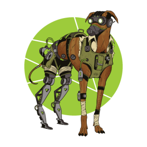 Cyber Greyhound Dog