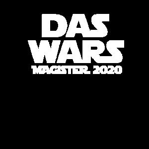 das wars Magister 2020 shirt geschenk universität